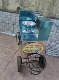 Título do anúncio: Carrinho de espetinhos, barata frita e cachorro quente