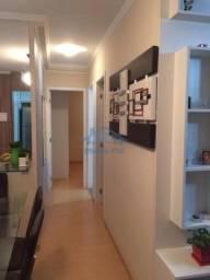 Apartamento com 2 dormitórios à venda, 49 m² por R$ 285.000,00 - Vila Mercês - Carapicuíba