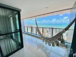 Apartamento com 152m, vista mar, 3 suítes, varanda gourmet - Manaíra