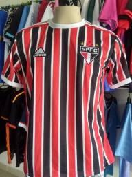 Camisas de times São Paulo tricolor 2021
