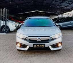 Honda Civic Ex Automatico 2017 manual e chave