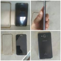 Samsung J7 metal semi novo