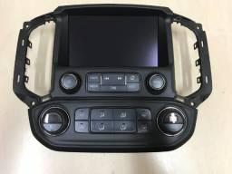 Central Multimídia GM S10/Trailblazer -  Com Controles do A/C