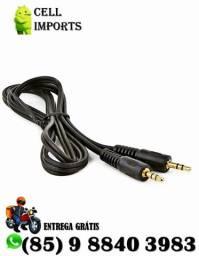 Cabo Auxiliar Áudio Estéreo P2 x p2