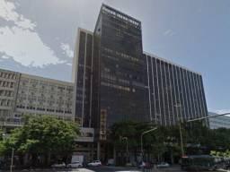 Sala com garagem luxo Centro padrão Torre Rio Sul 75% desconto sem iptu este ano