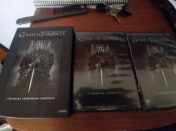 Título do anúncio: Primeira temporada de Game of Thrones em DVD