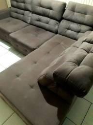 Título do anúncio: Vendo sofá retrátil