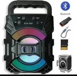 Caixinha de Som Bluetooth 18cm EletroFox Rua Padre Belchior 307C Centro ou frete