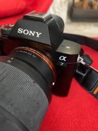 Título do anúncio: Sony A7 + Lente 28-70