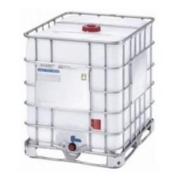 Título do anúncio: IBC contêiner 1000 litros com grade aço, usado e recuperado