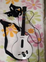 Guitarra Leadership Branca USB para Guitar Hero