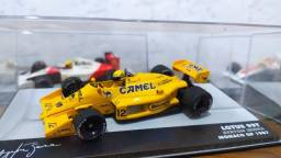 Título do anúncio: Miniatura Senna Lotus 99t 1:43 (com Decal Patrocínio)