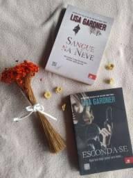 Coleção livros Lisa Gardner - Sangue na Neve e Esconda-se
