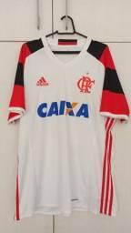 Camisa Flamengo 2016 Branca, Tam. G, nº 35