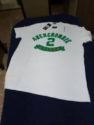 Título do anúncio: Camisa da Abercrombie & Fitch P, M, G e GG