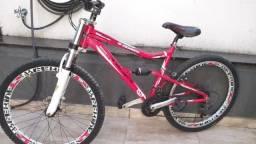 Título do anúncio: Bicicleta de trilha em bom estado