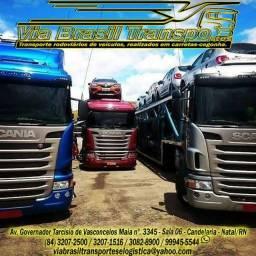 Título do anúncio: Via Brasil Transportes-Transportadora de veículos