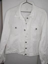 Título do anúncio: Jaqueta jeans branca