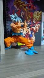 Título do anúncio: Action figures dragon ball. Goku instinto superior.freeza.goku blue