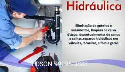 Título do anúncio: Encanador Hidráulico 24 horas