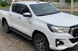 Título do anúncio: Vendo Toyota Hillux CD 2.7 SRV 2.7Flex