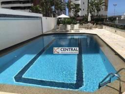 Apartamento com 3 dormitórios para alugar, 145 m² por R$ 2.705,00/mês - Candeal - Salvador