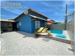Título do anúncio: Bela casa de 2 quartos sendo 1 suíte, área gourmet e piscina em Unamar, Tamoios - Cabo Fri