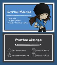 Designer Gráfico / Ilustrador / Web Designer / Editor de Vídeos