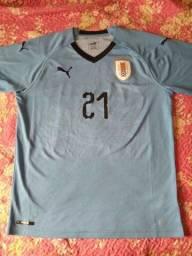 Título do anúncio: Camiseta Puma Uruguai 2018
