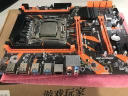 Placa Mãe Kllisre X99 (ZX-99EV3_V1.31) + Processador Xeon E5-2620V3
