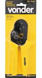Título do anúncio: Alicate Prensa Terminais Tubular 0,25 a 6,0mm Vonder