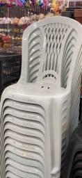 Título do anúncio: Chegou cadeira branca preço revenda no atacado pra bares
