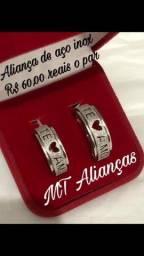Título do anúncio: Alianças de promoção namoro compromisso