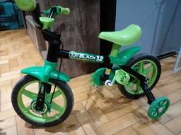Título do anúncio: Bicicleta infantil Black