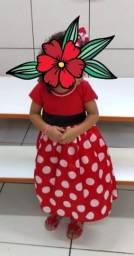 Vestido minie 3 anos