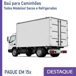 Título do anúncio: Baú Refrigerado e Baú Seco para Caminhão novo e seminovo Modelo: Z 320