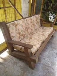 Sofá arredamento Cadeira Poltrona Massaranduba Madeira maciça móvel salão