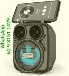 Caixa De Som Bluetooth Amplificada Portátil   R$55 promo01vis 2407