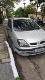 Título do anúncio: Perua Renault Scénic Prata 2003 1.6 16V Troca