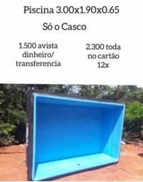 Piscina casco 3000 litros