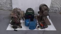 Lote com Motores Elétricos e Redutores - #8373