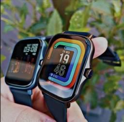 Título do anúncio: Na Compra de 3 Smartwatch P8 Plus Y20, ganhe 2 Pulseiras de aço inoxidável.