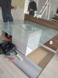 Título do anúncio: Mesa em vidro