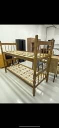 Título do anúncio: Beliche imbuia, madeira maciça!! Pronta entrega