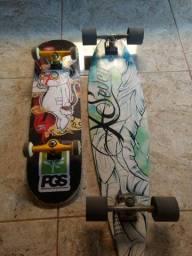 Long e skate novos ,quase sem uso
