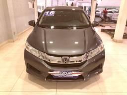 Título do anúncio: Honda City LX Automático 2016 Cinza