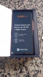 """Título do anúncio: Smartphone Motorola Moto E7 64GB 4G Tela 6.5"""" Câmera Dupla 48MP 2MP Frontal 5MP Cobre"""