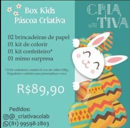 Box Kids Páscoa Criativa