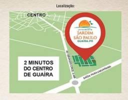 Terreno plano 367m2 de esquina em Guaíra-Pr