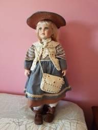 Boneca de Porcelana Alemã Melanie Doll